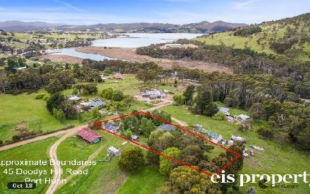Property photo of 45 Doodys Hill Road Port Huon TAS 7116